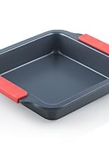 Недорогие -Инструменты для выпечки Металл Многофункциональный / Творческая кухня Гаджет Для приготовления пищи Посуда Квадратный Десертные инструменты 1шт