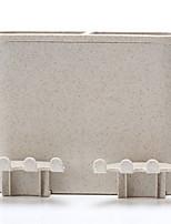 Недорогие -Стакан для зубных щеток Креатив Современный современный Пластик 5 шт. Зубная щетка и аксессуары