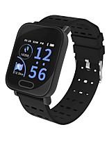 Недорогие -Kimlink L3 Смарт Часы Android iOS Bluetooth Пульсомер Измерение кровяного давления Сенсорный экран Израсходовано калорий / Педометр / Напоминание о звонке / Датчик для отслеживания сна