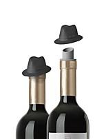 abordables -Articles de bar / bouchons de vin / Accessoires pour Bar & Vin Fixation / Portable / Cadeau pour Bar / Vin / Quotidien Silicone