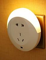 Недорогие -1шт LED Night Light / Настенный светильник Тёплый белый DC Powered Милый / Креатив / Украшение 5 V