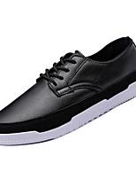 Недорогие -Муж. Комфортная обувь Полиуретан Зима На каждый день Кеды Нескользкий Черный / Коричневый / Синий
