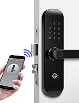 Недорогие -PINEWORLD Q202 Алюминиевый сплав Замок / Пароль / Блокировка отпечатков пальцев Умная домашняя безопасность iOS / Android система Регулируемый звук / Отпирание отпечатка пальца / Разблокировка пароля