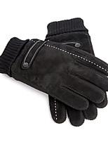 Недорогие -Полныйпалец Муж. / Жен. Мотоцикл перчатки Кожа Сенсорный экран / Сохраняет тепло / Износостойкий