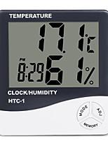Недорогие -RL-1 Портативные / Прочный Гигрометры -50+70(℃) Семейная жизнь, Измерение температуры и влажности, LCD дисплей