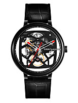 Недорогие -Xiaomi CIGA Design Creative Leather Strap Automatic Mechanical Men Watch Смарт Часы Android iOS Спорт Секундомер