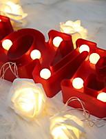 Недорогие -1шт LED Night Light Тёплый белый Cool <=36 V