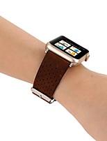 Недорогие -Ремешок для часов для Apple Watch Series 4/3/2/1 Apple Классическая застежка Натуральная кожа Повязка на запястье