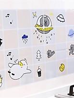 Недорогие -Кухня Чистящие средства пластик Маслонепроницаемые наклейки Защита 1шт
