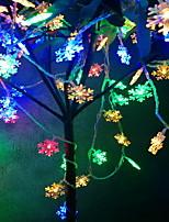 Недорогие -1,5 м Гирлянды 10 светодиоды Разные цвета Декоративная Аккумуляторы AA 1 комплект
