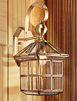 Недорогие -Творчество Современный современный Настенные светильники В помещении / Сад Металл настенный светильник 220-240Вольт 40 W