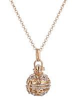 Недорогие -Жен. Ожерелья с подвесками - Шарообразные Мода, Симпатичные Стиль Милый Золотой, Серебряный 76 cm Ожерелье Бижутерия 1шт Назначение Для вечеринок, Свидание