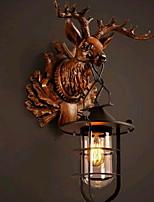Недорогие -Творчество Простой Настенные светильники Спальня / В помещении Смола настенный светильник 220-240Вольт 40 W