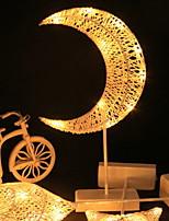 Недорогие -1шт MOON LED Night Light Тёплый белый Творчество <5 V