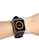 Недорогие -Ремешок для часов для Apple Watch Series 4/3/2/1 Apple Спортивный ремешок силиконовый / Натуральная кожа Повязка на запястье