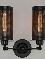 Недорогие -Творчество Ретро / Деревенский Настенные светильники В помещении Металл настенный светильник 220-240Вольт 40 W