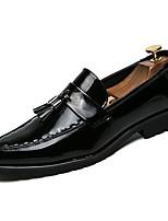 Недорогие -Муж. Комфортная обувь Полиуретан Весна На каждый день Мокасины и Свитер Доказательство износа Черный