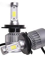Недорогие -OTOLAMPARA 2pcs PK43T Автомобиль Лампы 36 W COB 8000 lm 3 Светодиодная лампа Налобный фонарь Назначение Volkswagen / Toyota / Nissan Versa / Rio / Optima Все года