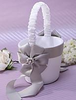 Недорогие -Цветочные корзины Прочее 22 см Искусственный жемчуг / Цветы из сатина 1 pcs