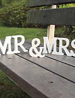 Недорогие -Буквы и цифры Дерево Свадебные украшения Свадьба Свадьба Все сезоны