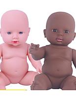 Недорогие -KIDDING Куклы реборн Мальчики Африканская кукла 24 дюймовый Полный силикон для тела Силикон Винил - как живой Ручная Pабота Очаровательный Дети / подростки Детские Универсальные Игрушки Подарок