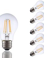 Недорогие -6 шт. Gmy a17 светодиодные лампы Эдисона 3.5 Вт светодиодные лампы накаливания эквивалент 32 Вт с e26 база 2700 К для спальни гостиной дома декоративные