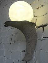 Недорогие -Творчество Современный современный Настенные светильники На открытом воздухе Смола настенный светильник 220-240Вольт 5 W