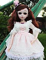 Недорогие -Кукла для девочек Модная кукла Говорящая игрушка Девочки 24 дюймовый Силикон - Smart как живой Дети / подростки Детские Универсальные Игрушки Подарок