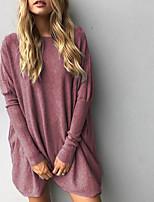 Недорогие -женская тонкая блузка - однотонная шея