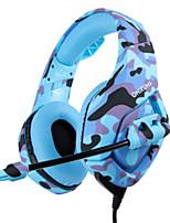 Недорогие -Factory OEM Головная повязка Кабель Наушники наушник Пластиковый корпус / ABS + PC Игры наушник Новый дизайн / Стерео наушники