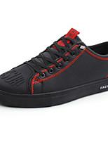Недорогие -Муж. Комфортная обувь Полиуретан Наступила зима На каждый день Кеды Черный / Красный / Черный / зеленый