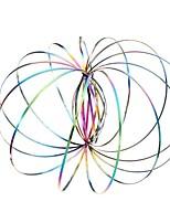 Недорогие -волшебное кольцо toroflux torofluxus flowtoy удивительное кольцо потока игрушки весна игрушка новинки игрушки - фиолетовый