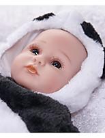 Недорогие -FeelWind Куклы реборн Мальчики 18 дюймовый Силикон Винил - как живой Ручная Pабота Очаровательный Дети / подростки Нетоксично Детские Универсальные Игрушки Подарок