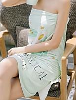 Недорогие -Высшее качество Банное полотенце, Реактивная печать Чистый хлопок Спальня 1 pcs