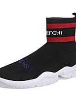 Недорогие -Муж. Комфортная обувь Tissage Volant Весна & осень На каждый день Кеды Белый / Черный