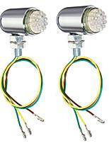 Недорогие -2pcs Проводное подключение Мотоцикл Лампы 24 Светодиодная лампа Лампа поворотного сигнала / Задний свет / Тормозные огни Назначение Мотоциклы Все года