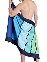 Недорогие -Высшее качество Банное полотенце, Геометрический принт Полиэстер / хлопок 1 pcs