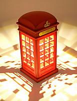 Недорогие -1шт LED Night Light Желтый Аккумуляторы AA Для детей / Творчество <=36 V