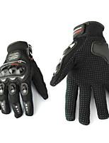 Недорогие -Мотоцикл полный гоночный палец езда защитные перчатки черный м