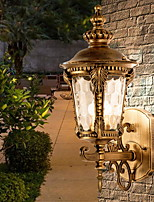 Недорогие -Творчество Традиционный / классический Настенные светильники На открытом воздухе Металл настенный светильник 220-240Вольт 15 W