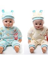 Недорогие -Модная кукла Говорящая игрушка Мальчики 16 дюймовый Силикон - Smart как живой Дети / подростки Детские Универсальные Игрушки Подарок