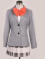 Недорогие -Вдохновлен Косплей Косплей Аниме Косплэй костюмы Школьная форма Английский Косыночная повязка / Пальто / Блузка Назначение Муж. / Жен.