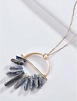 Недорогие -женская мода / простое ожерелье из сплава