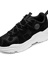 Недорогие -Муж. Комфортная обувь Полиуретан Весна На каждый день Кеды Дышащий Черный / Бежевый / Серый