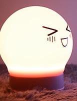 abordables -1pc LED Night Light Jaune Pour les enfants / Adorable