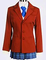 Недорогие -Вдохновлен Косплей Косплей Аниме Косплэй костюмы Школьная форма Английский Пальто / Блузка / Кофты Назначение Муж. / Жен.
