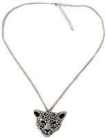 Недорогие -Муж. Ожерелья с подвесками - Серебряный 19.685 дюймовый Ожерелье Бижутерия 1шт Назначение Повседневные