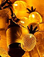 Недорогие -2м Гирлянды 10 светодиоды Желтый Декоративная / обожаемый 5 V