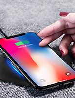 Недорогие -Беспроводное зарядное устройство Зарядное устройство USB USB Беспроводное зарядное устройство / Qi 1 USB порт 2.1 A DC 5V для iPhone X / iPhone 8 Pluss / iPhone 8