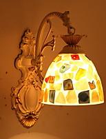 Недорогие -Творчество Ретро Настенные светильники Спальня / В помещении Смола настенный светильник 220-240Вольт 40 W